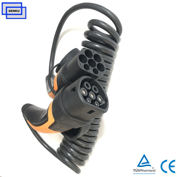 1 phase 16A Type 2 to  Type 2 Mode3 Cable Charger